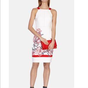 KAREN MILLEN • ribbon floral dress